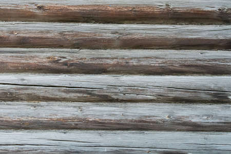 Natural wall timber. Textured wooden brown background