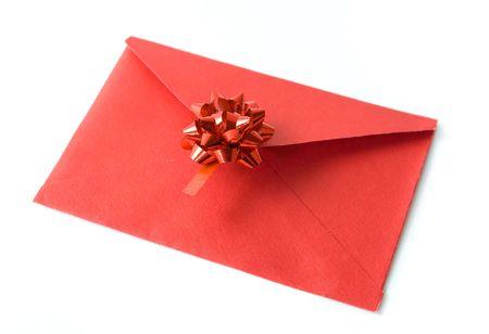 Red celebratory envelope photo