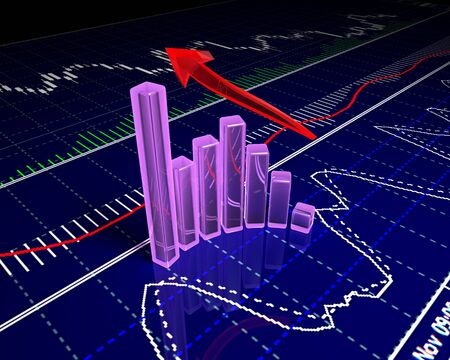 Chart, diagram Stock Photo - 11268710