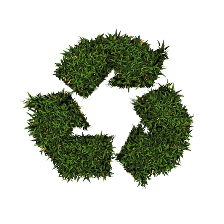 Recycle logo Stock Photo - 11324751