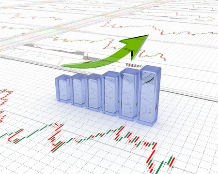 Chart, diagram Stock Photo - 11324805
