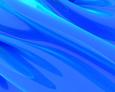 3d rendered illustration of blue abstract background illustration