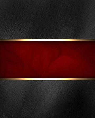 emerald: Black background with dark red texture stripe layout Stock Photo