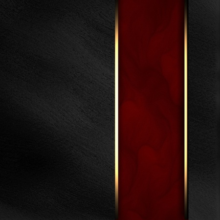 Black background with dark red texture stripe layout photo
