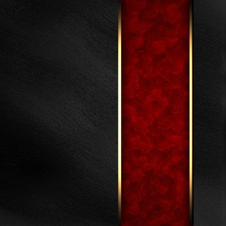 shiny black: Black background with dark red texture stripe layout Stock Photo