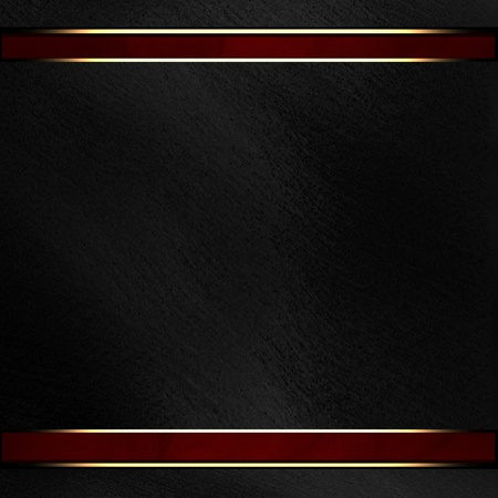 formal: Black background with dark red texture stripe layout Stock Photo