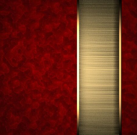 classy background: Red background with gold texture stripe layout