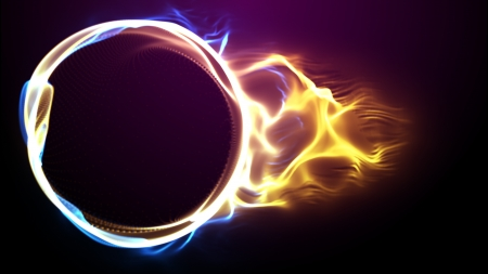 wallpaper rings: Abstract colorful background  Color Particles   Circle plasma  Stock Photo