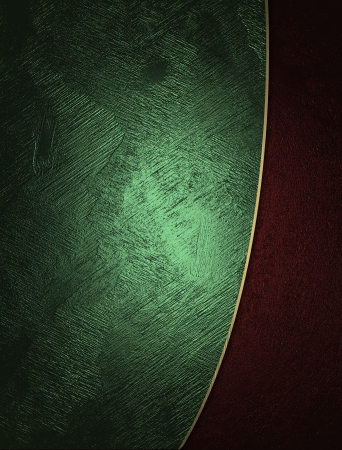 The template for the inscription  Green and red texture  photo
