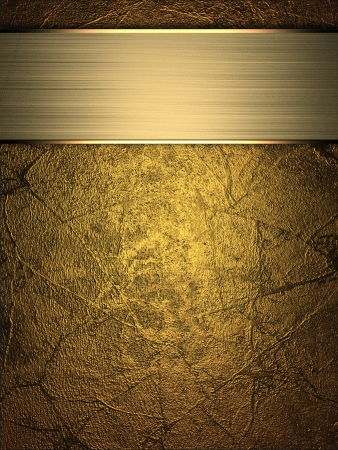classy background: Gold Background with golden name plate