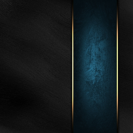 classy background: The template for the inscription  Black Background with beautiful blue nameplate   red background
