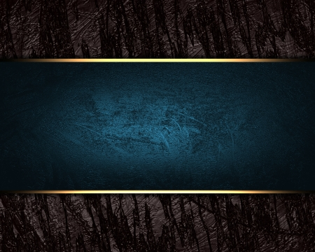 The template for the inscription  Abstract brown Background with blue nameplate  Stock Photo