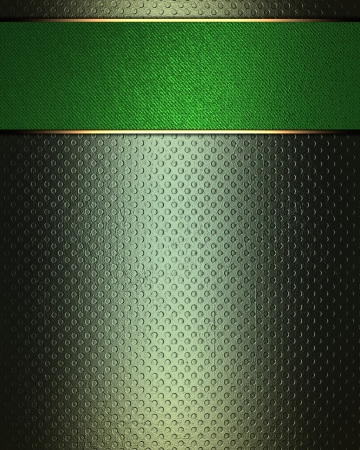 jade: The template for the inscription  Abstract green Background with green nameplate for writing