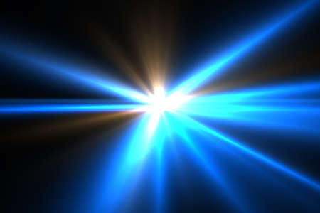 Design template - Star, sun with lens flare. Rays background. Stock Photo - 16462739