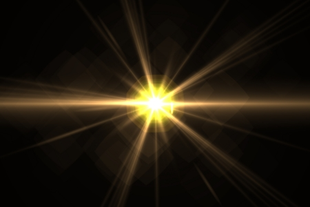 Design template - Star, sun with lens flare  Rays background  Stock Photo - 16561684