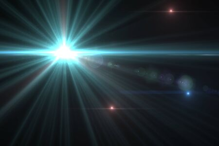 Design template - Star, sun with lens flare  Rays background Stock Photo - 16561688
