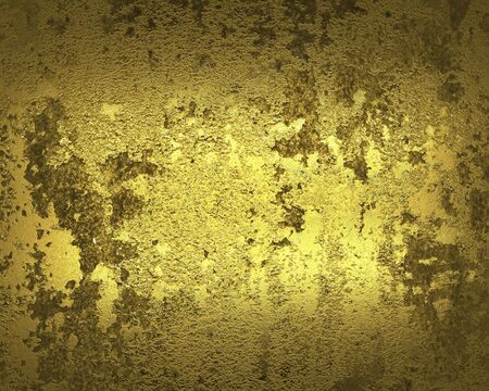gilding: Old gold wall ( Textured gold background ).