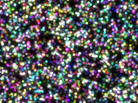 Design template - christmas sparkle. Flickering colorful Lights. particles photo