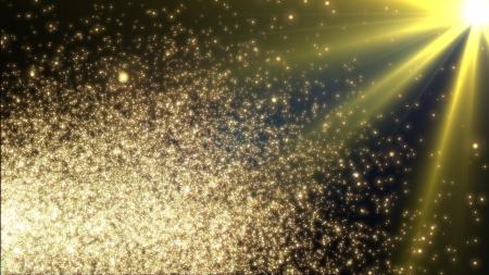 flickering: Plantilla de dise�o - chispa Navidad. El parpadeo luces amarillas sobre fondo negro