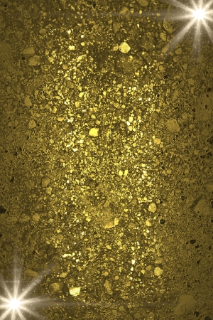 gold textured background: Old gold wall ( Textured gold background ).