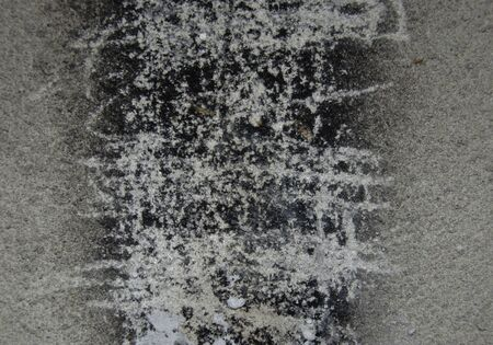 charred: charred wall  ( texture old wall ) Stock Photo
