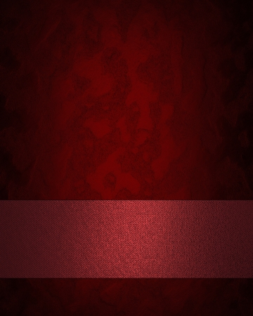 classy: Design template - Red texture with red name plate.