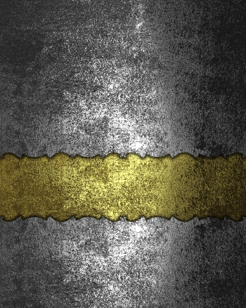 Template for design. Grunge rift gold Texture photo