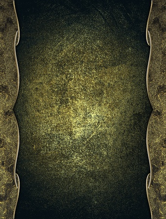 Design template - Old iron background with antique iron edges Stock Photo - 18140475