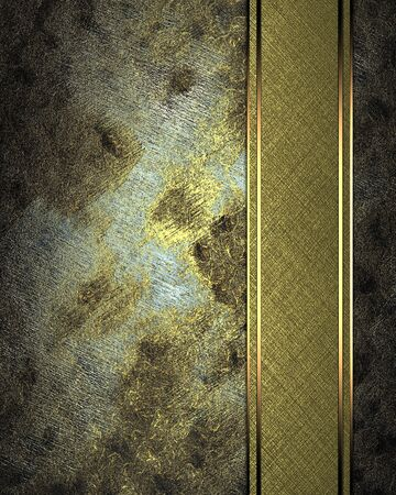 Rusty dirty texture with abstract gold texture (background) Stock Photo - 18140483