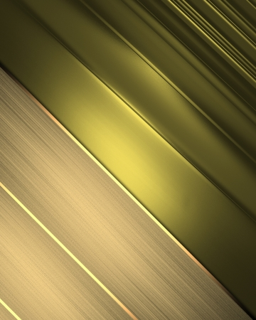 Business elegant gold abstract background. Design template photo