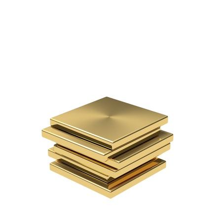 grounding: Symbol for high quality. Gold podium
