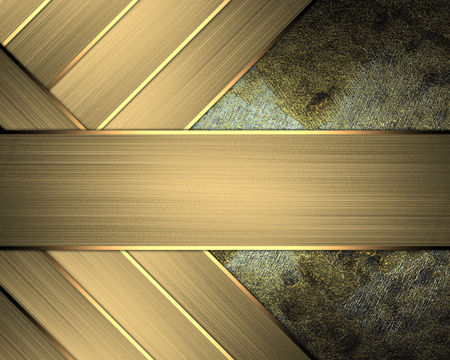 Brushed metal plate with reflected light Stock Photo - 22345022