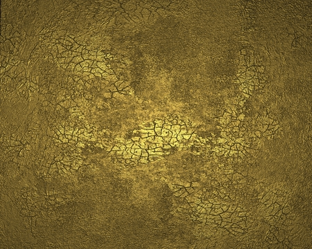 Textured gold background photo