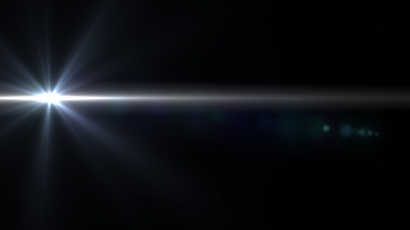gaze: Design template - Star, sun with lens flare. Rays background.
