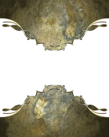 classy background: Frame of rusted plate. Design template