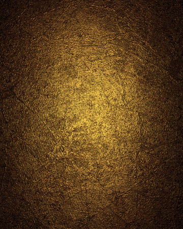 Vintage Golden metal background. Design template. Design for site