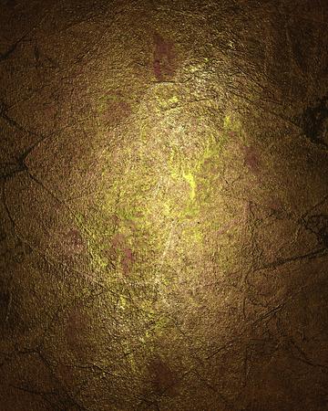 gold textured background: Grunge Textured gold background