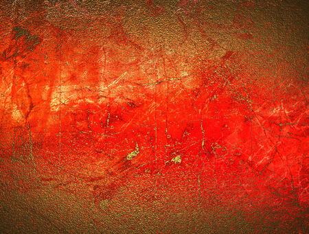 red and gold: Grunge red gold texture Stock Photo