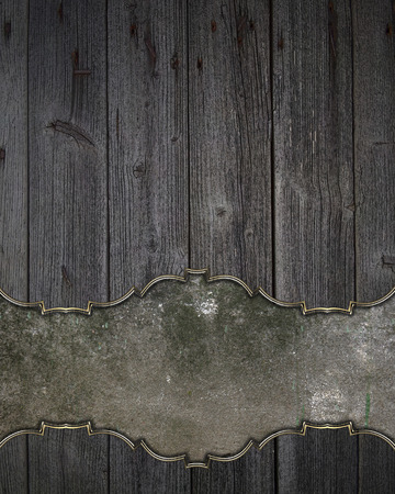 space for writing: Wooden texture with space for writing. Template Design.