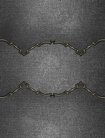nameplate: Abstract grunge iron texture with metal nameplate. Design template