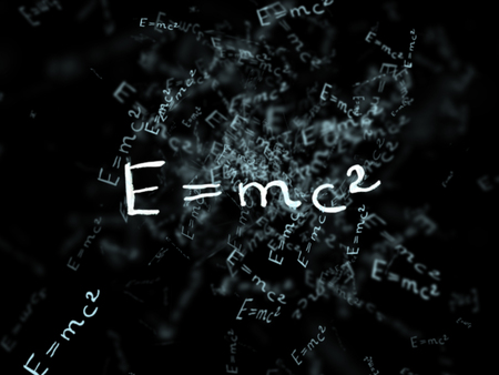relativity: The theory of relativity. Flying formula. Einsteins law. concept of Education