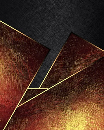 inserts: Abstract black texture with red inserts. Element for design. Template for design. Stock Photo