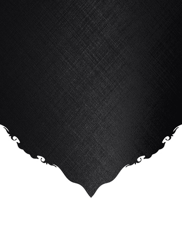 nameplate: Black nameplate.