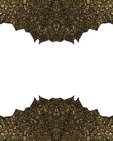 metal grunge: Dangerous frame with sharp edges. Template for design. copy space for ad brochure or announcement invitation, abstract background. Stock Photo