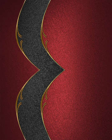 ad space: Red texture with black pattern. Template for design. copy space for ad brochure or announcement invitation, abstract background.