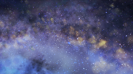 clusters: Misty clusters in saved. The galaxy in space