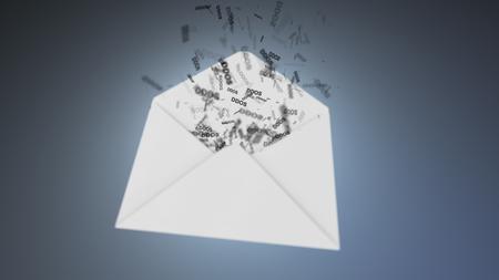 menace: E-mail virus. Ddos attack via the global network.