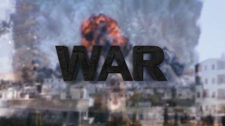 reich: the third world war. The Danger of War Stock Photo