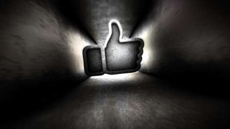 disapprove: Like in the dark corridor. A light in the end of a tunnel.