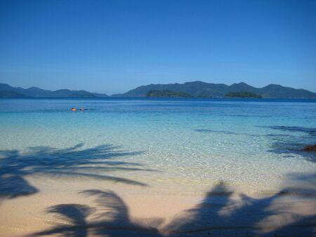 trad: Beautiful beach at Wai Island TradThailand Stock Photo